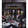 Injustice Ultimate Edition Dc Ps3 Original Físico En Disco