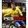 Pro Evolution Soccer 2016 Ps3 Original Físico Disco Pes 16