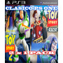 Disney Pixar Toy Story 2 + Toy Story Racer Psone Classic Ps3