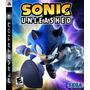 Sonic Unleashed Ps3 Nuevo Sellado Original