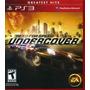 Need For Speed Undercover Ps3 Nuevo Sellado Original
