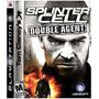 Splinter Cell Double Agent Ps3, Nuevo Cerrado De Fabrica!