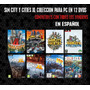 Sim City Y Cities Xl Y Xll Coleccion En Español Pc (12 Dvds)
