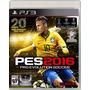 Pes 2016 Pro Evolution Soccer Juego Ps3 Original Sellado