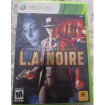 L. A. Noire Xbox 360 Original Ntsc Mercadoenvios San Miguel