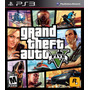 Gta 5 Grand Theft Auto V Ps3 Nuevo Sellado Fìsico