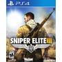 Sniper Elite 3 - Oferta!- Ps4 [ Sin Bloqueo]- Tochi Gaming