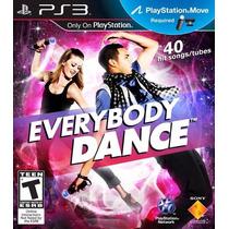 Everybody Dance Juego Ps3 40 Canciones! Move Nuevo Promo