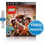 Lego Piratas Del Caribe Ps3 - Fisico Sellado * Blue Coin
