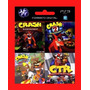 Crash 1,2, Y 3 + Ctr Crash Team Racing Ps3 En Español