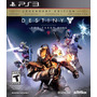 Destiny The Taken King Legendary Edition Ps3 | Chokobo