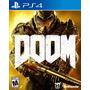 Doom Ps4 - Nuevo - Sellado - Formato Fisico - Nextgames