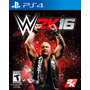 Wwe 2k16 Ps4,xbox One,360,ps3 Nuevo Sellado Fisico