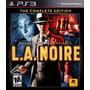La Noire Ps3 Complete Edition Español Lgames