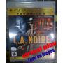 L.a. Noire - Playstation 3 Fisico