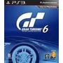 Gran Turismo 6, Ps3, Disco Fisico, Nuevo Y Sellado