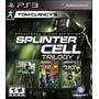 Splinter Cell Trilogy Hd Ps3 Original Físico En Disco Nuevo