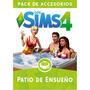 Los Sims 4 Patio Ensueño Juego Pc Digital Origin Simulador