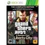 Juego Xbox 360 Grand Theft Auto Iv Complete Edition Español