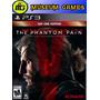 Metal Gear Solid 5 V The Phantom Pain Ps3 Sellado Local !!!