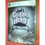 Guitar Hero Metallica (338) X-box 360 Con Caja Y Manual
