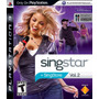 Singstar Vol 2 Ps3 Nuevo Sellado Original Req. Mic