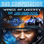 Combo Starcraft 2 Wings Of Liberty+expan Heart Of The Swarm