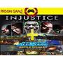 Playstation All-stars Battle Royale + Injustice: Gods Among