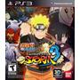 Naruto Shippuden Ultimate Ninja Storm3 Nuevo Sellado Ps3