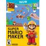 Super Mario Maker Nintendo Wii U Nuevo Sellado Con Libro
