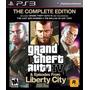 Grand Theft Auto Iv 4 Complete Edition Nuevo Ps3 Dakmor