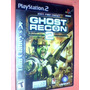Ghost Recond 2 - (602) Ps2 - Original Completo