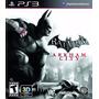 Batman Arkham Asylum + Batman Arkham City + Catwoman Ps3