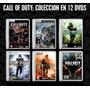 Call Of Duty Coleccion En Español Para Pc (12 Dvds)