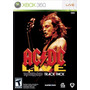 Juego Xbox 360 Ac Dc Live Rock Band Ntsc Original