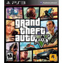 Gta V Grand Theft Auto 5 Ps3 Fisico Usado Solo Venta