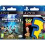 Epic Mickey 2 Y Toy Story 3- Digital Ps3- Locos Por La Play