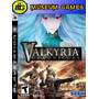 Valkyria Chronicles Ps3 Fisico Nuevo Sellado Local !!!