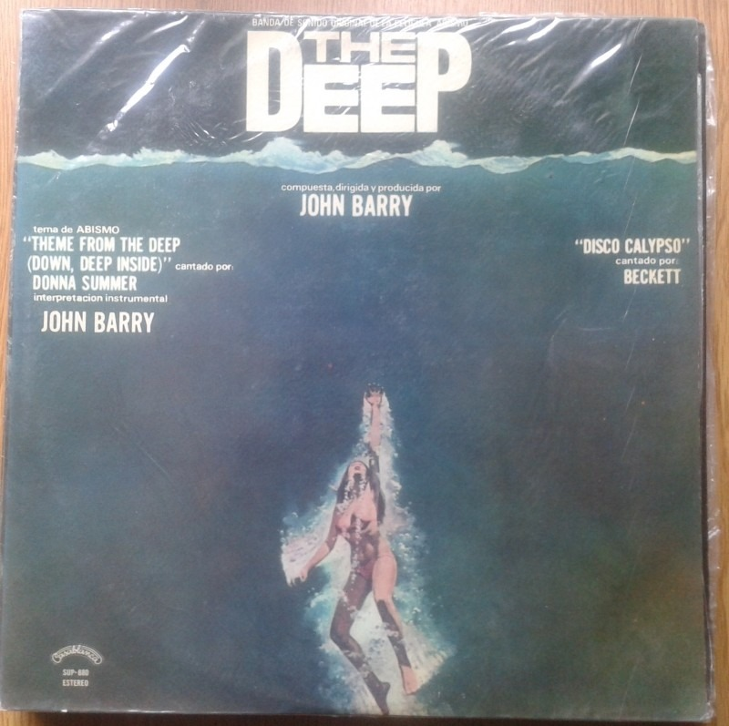 Vinilo O.s.t John Barry The Deep Donna Summer ( B Blanca) - $ 120 ...