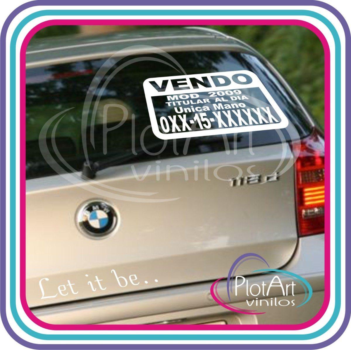 Sticker Auto Adhesivo Bebe Car Interior Design