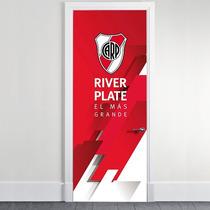 Vinilo Ploteo Decorativo De Puertas - Fútbol Oficial River