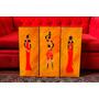 Cuadros Modernos Figuras Mujeres Africanas. Arte Y Deco