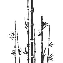 Vinilo Pared Bambú Decoracion Wall Stickers
