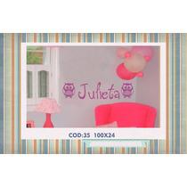 Vinilos Decorativos Para Niños Con Nombre Y Dibujo Ituzaingo
