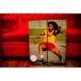 Set De Cuadros Bob Marley. Díptico. Música Y Decoración