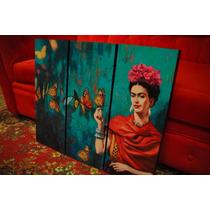 Cuadros Modernos Frida Kahlo. Arte Y Decoración. Decoupage