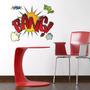 Vinilo Decorativo Adhesivo Bang! Med Plancha 60x70