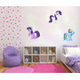Vinilo Pared Infantiles Little Pony Decoración Wall Stickers