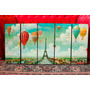 Set De Cuadros Paris Vintage. Decoración Para Tu Hogar!