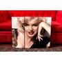 Cuadros Marilyn Monroe. Triptico. Diseño Y Decoración.